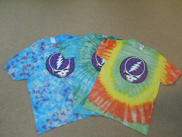 Grateful Dead Phish Tie-dye T-shirt