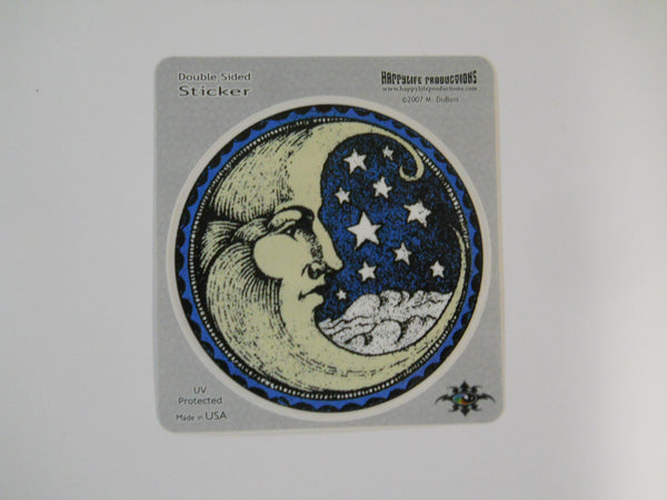 Mystical Crecent Moon Window Sticker