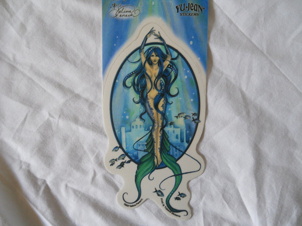 Mermaid Lady Sticker