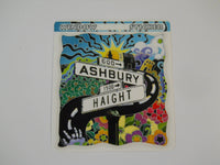 Ashbury and Haight Sticker
