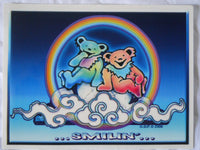 Grateful Dead Smilin' Bear Sticker
