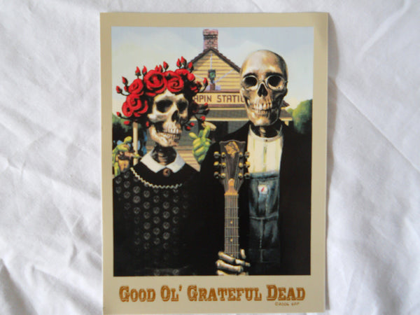 Grateful Dead Good Ol' GD Sticker