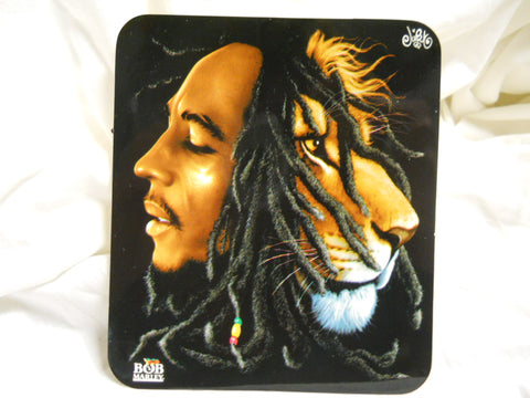 Bob Marley Rasta Lion Sticker