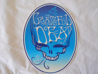 Grateful Dead Smoke Steal Your Face Sticker