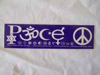 Peace Symbol Sticker
