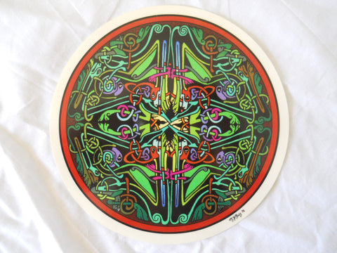 Celtic Knot Mandala Sticker