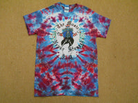 Grateful Dead The Music Never Stopped tie dye T-Shirt