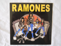 Ramones Cartoon Sticker