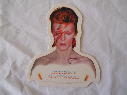 David Bowie Aladdin Sane Sticker