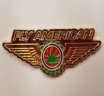 Fly American Hat Pin