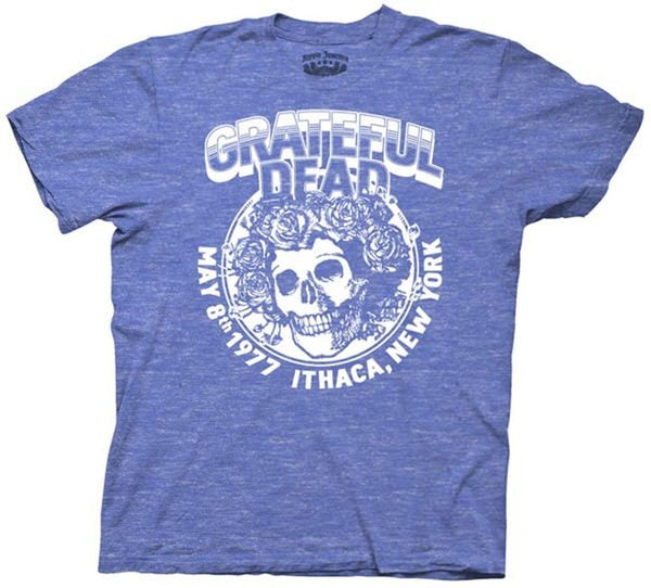 Mens Grateful Dead Ithaca 77 T-shirt