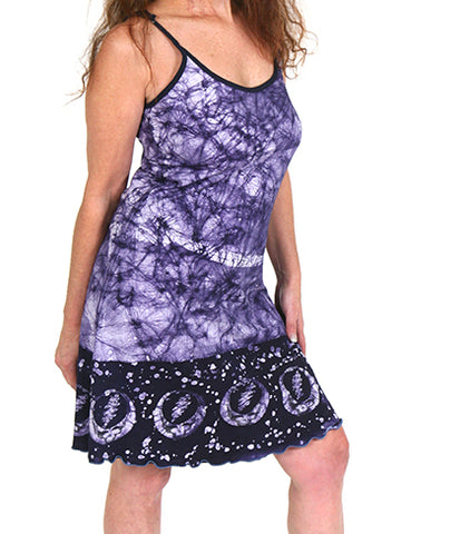 Womens Anne Marie Grateful Dead Batik Dress
