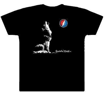 Grateful Dead Wolf Moon T-shirt