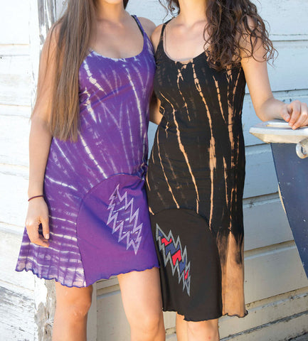 Assorted Grateful Dead Spaghetti Strap Tie Dye Dresses