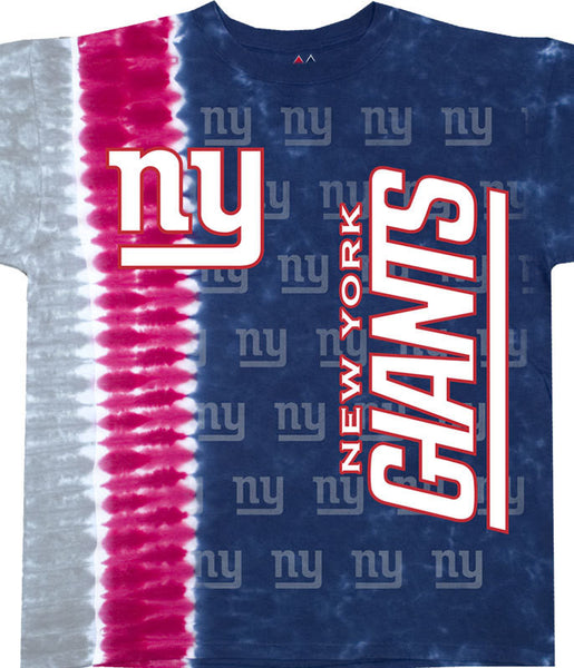 Giants Vertical Tie Dye T-Shirt