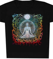 Meditation Art Print Womens T-shirt