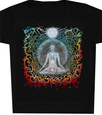 Mens Meditation Art Print T-Shirt