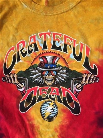 Grateful Dead Tie Dye Motorcycle Sam
