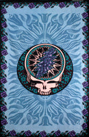 Grateful dead Blue Rose Steal Your Face Tapestry