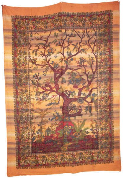 Handloom Tree of Life Tapestry
