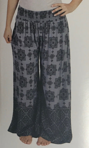 Ethnic Print Women Pants