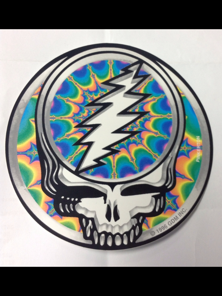 Fractal Steal Your Face sticker