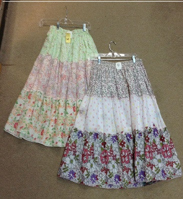 Floral 3 Tier Skirt