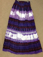 Tie Dye and Pattern Tier Skirt