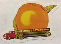 Allman Brothers Eat A Peach Truck Sticker