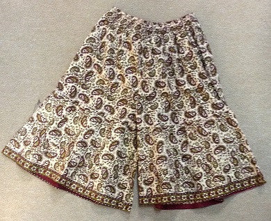 Paisley Wide Legged Shorts