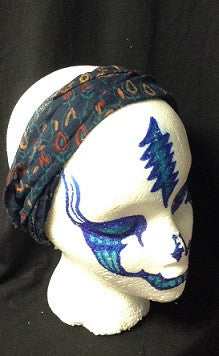 Indian Print Sheer Headband