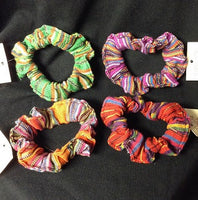 Pretty Woman Hand Loomed Scrunchie
