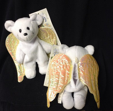 Angel Bear Beanie Plushie