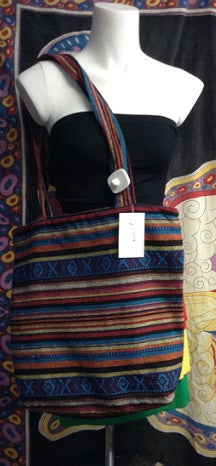 Indian Print Tote Bag