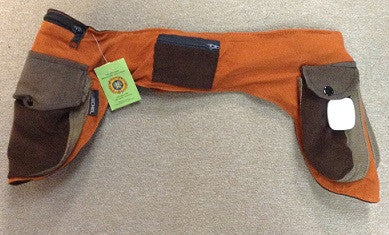 Corduroy Double Side Pocket Fanny Pack