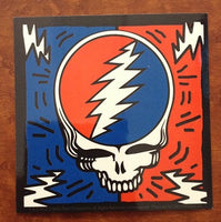 Steal Your Face and Bolts Sticker