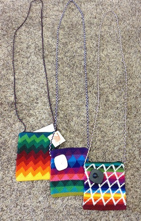 Rainbow Patterned Passport Bags