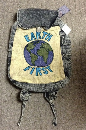 Earth First Backpack