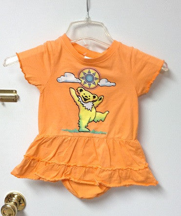 Dancing with the Sun Skirt Onesie