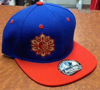 Mayan Flower Snap Back Hat