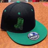 Emerald Crystal Snap Back Hat