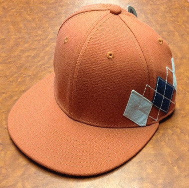 Argyle Patch Fitted Hat