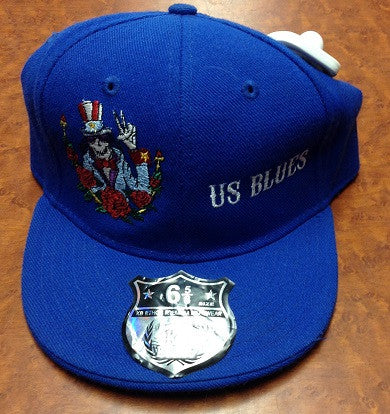 US Blues Fitted Hat