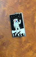 Space Hat Pin