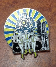 Beastie Boys Hat Pin