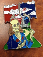 Grateful Dead Franklins Tower Hat Pin