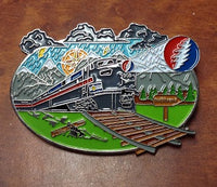 Grateful Dead I Know You Rider Hat Pin