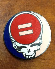 Steal Your Face Equality Hat Pin