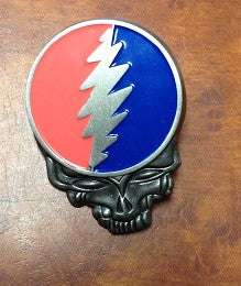 Pewter Steal Your Face Hat Pin