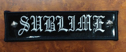 Sublime Studded Patch